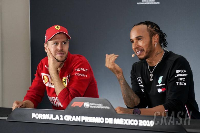 Vettel-Hamilton 'super team' would be good for F1 - Ecclestone