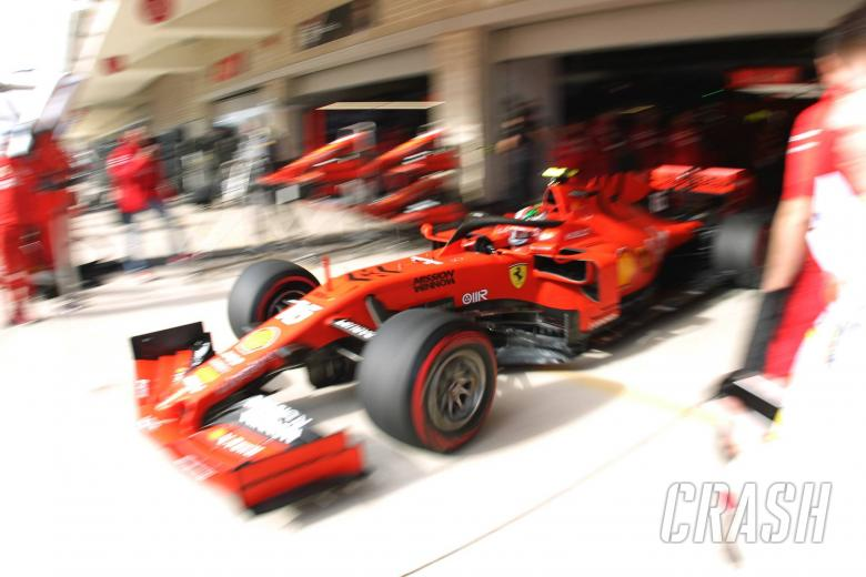 Leclerc avoids penalty after engine change ahead of US GP qualifying