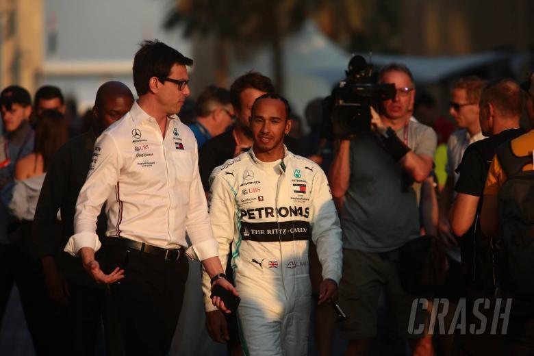 Wolff: Hamilton stepping up performances every season