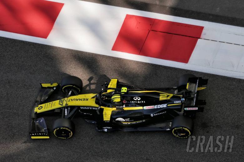 Nico Hulkenberg (GER) Renault F1 Team RS19. 29.11.2019.