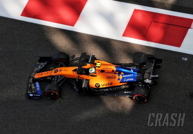 Norris sets McLaren car targets for 2020 F1 season