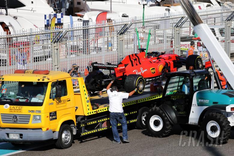 Vettel admits he 'got lucky' in Abu Dhabi FP1 crash