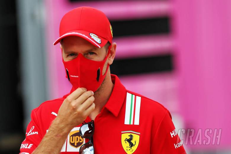 """Vettel plays down """"fuss"""" over Racing Point F1 team boss ride"""