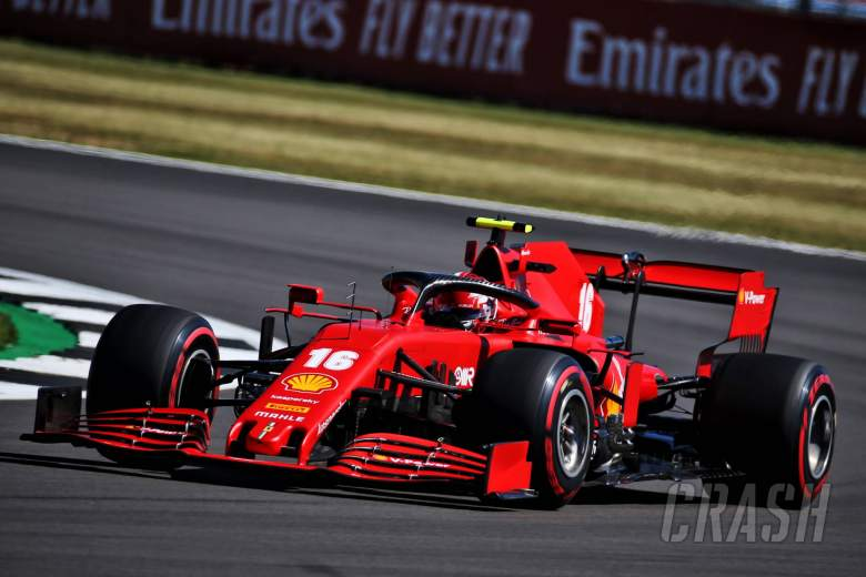 Leclerc: P8 at F1's Anniversary GP 'more realistic' for Ferrari