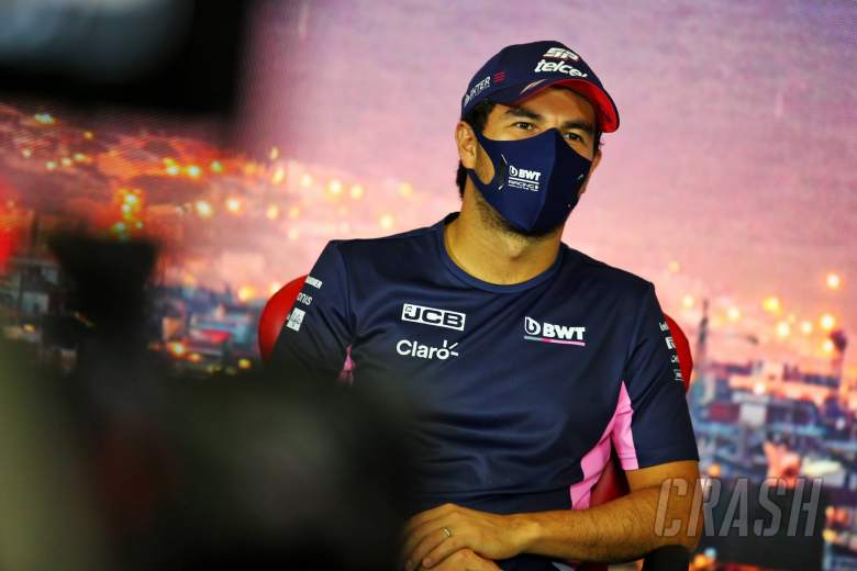 """Perez was """"unlucky"""" to be first F1 driver to have COVID-19"""