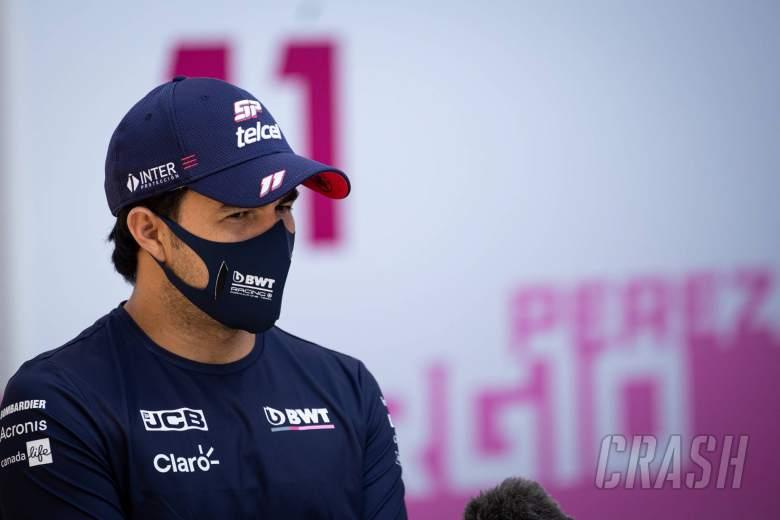 Sergio Perez (MEX) Racing Point F1 Team.