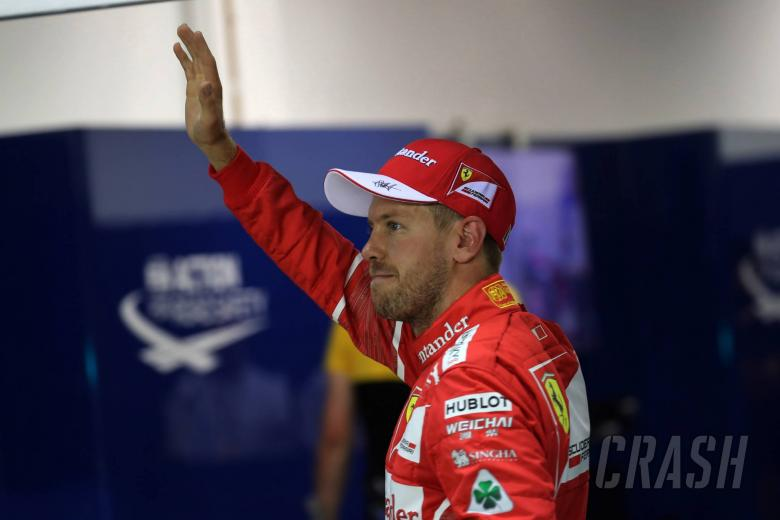 Vettel focusing on Red Bulls, not Hamilton, in Singapore