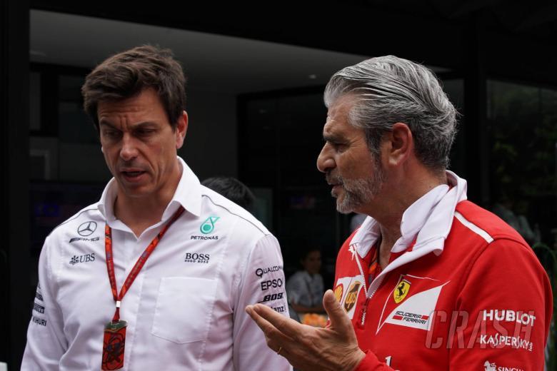"Horner: Mercedes and Ferrari ""working as one team"""