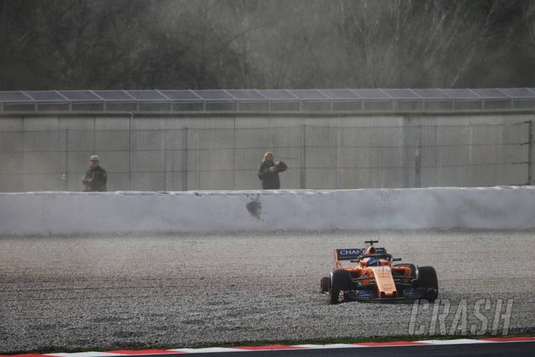 Alonso: Crash very small problem but very graphic result