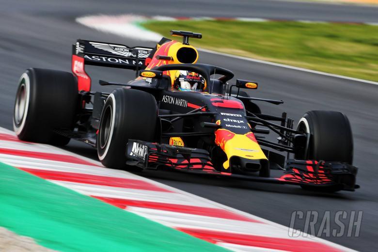 Ricciardo tops opening 2018 F1 test