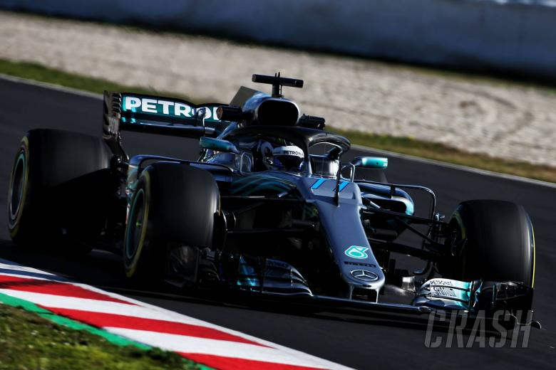 Bottas: No point getting upset when Lewis beats me