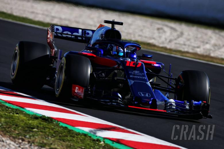 Brake issue limits Gasly's running in Barcelona