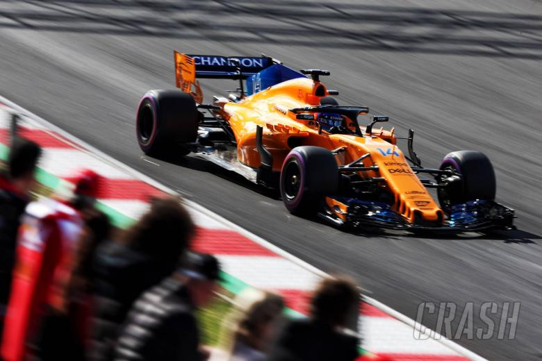 Alonso ends 'rollercoaster' day P2 for McLaren