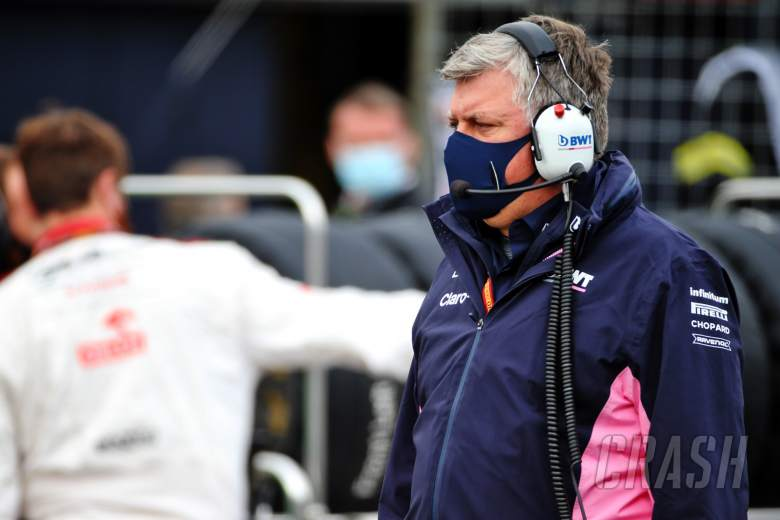 Otmar Szafnauer (USA) Racing Point F1 Team Principal and CEO on the grid.