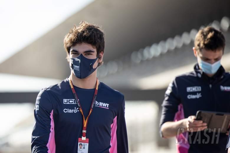 Lance Stroll (CDN) Racing Point F1 Team walks the circuit with the team.