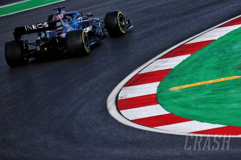 Lewis Hamilton (GBR) Mercedes AMG F1 W11.