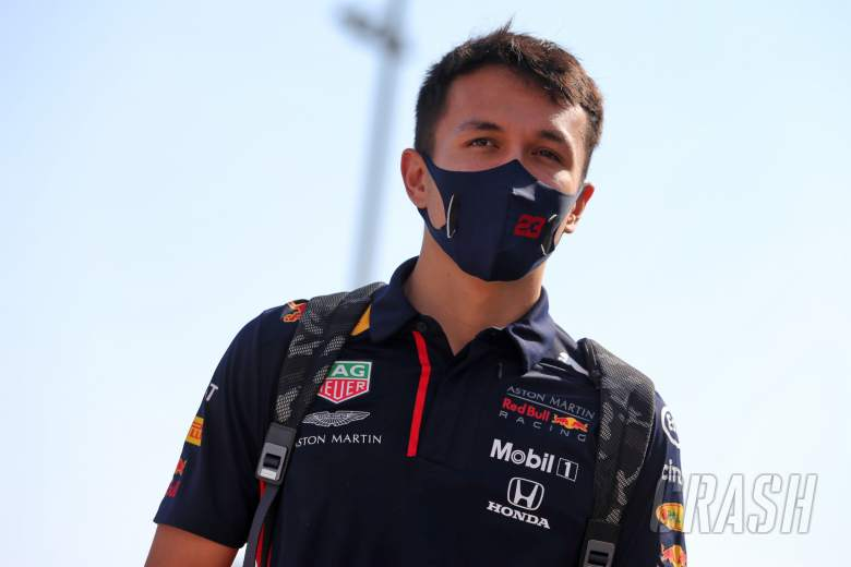 Alexander Albon (THA) Red Bull Racing.
