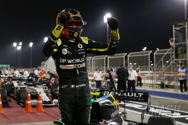 Ocon hopes Sakhir GP podium proves doubters wrong