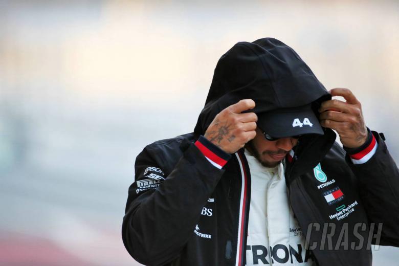 Hamilton slams 'white-dominated' F1 for silence over Floyd death