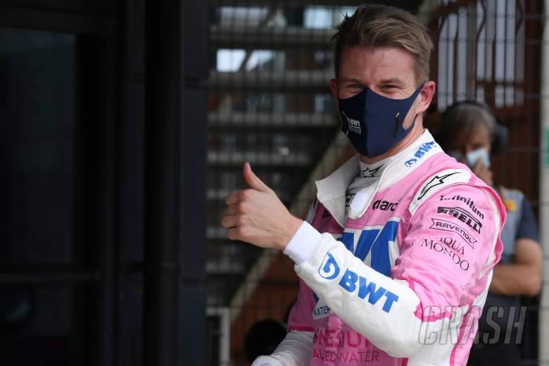 Nico Hulkenberg (GER) Racing Point F1 Team RP20 qualifies 3rd.