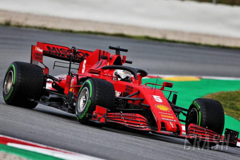Ferrari says shutdown ended effort to retain Vettel