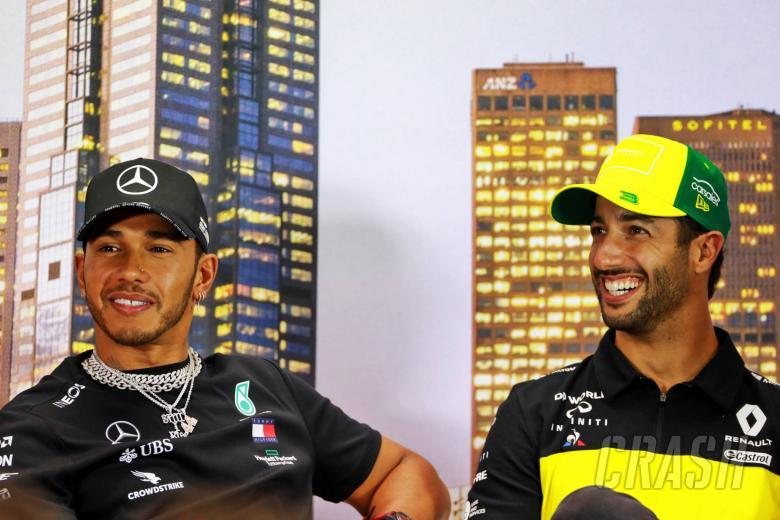 Ricciardo 'felt naive' after Hamilton's racism comments