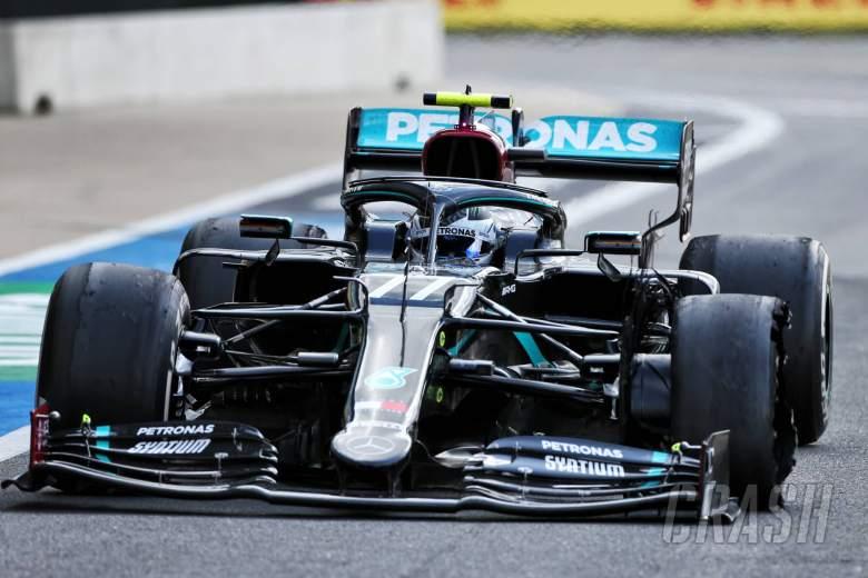 Mercedes suspect debris to blame for 'cruel' F1 British GP tyre drama