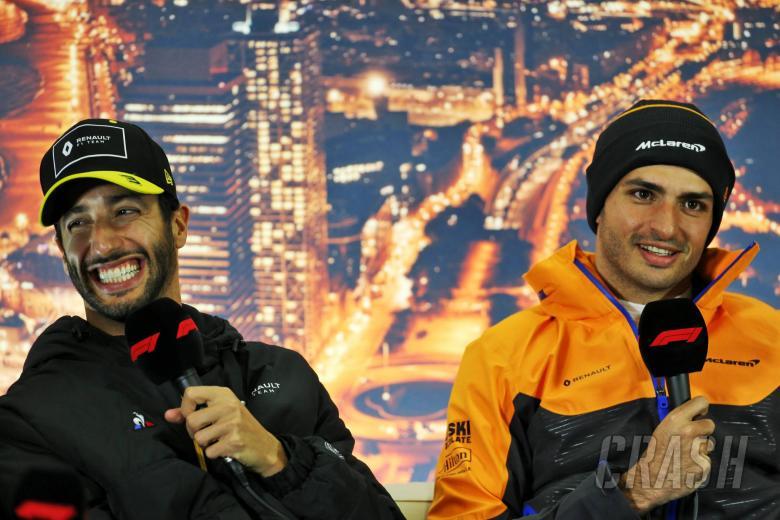 Sainz: Netflix 'exaggerated' F1 rivalry with Ricciardo