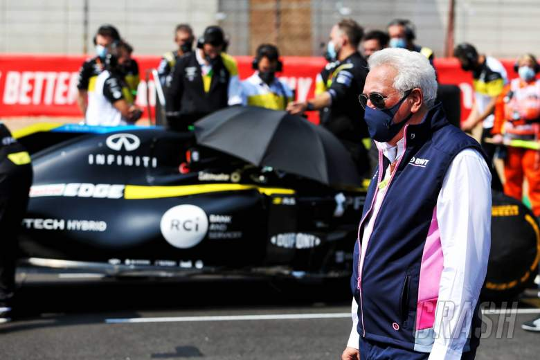 Lawrence Stroll (CDN) Racing Point F1 Team Investor on the grid.