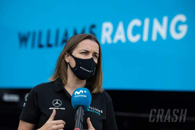 Claire Williams (GBR) Williams Racing Deputy Team Principal.