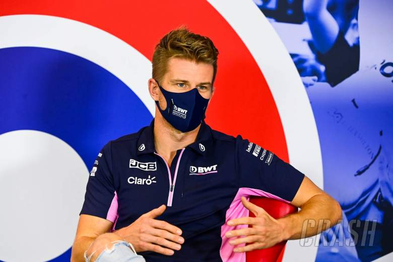Perez still positive for COVID-19, Hulkenberg in for second F1 race