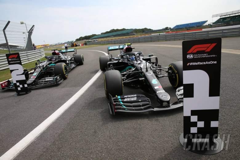 F1 70th Anniversary Grand Prix 2020 - Starting Grid