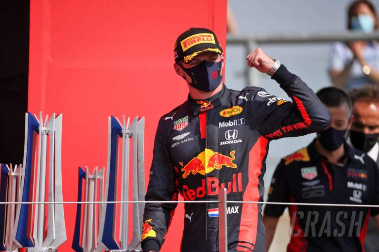 Verstappen 'didn't see win coming' in F1's 70th Anniversary GP
