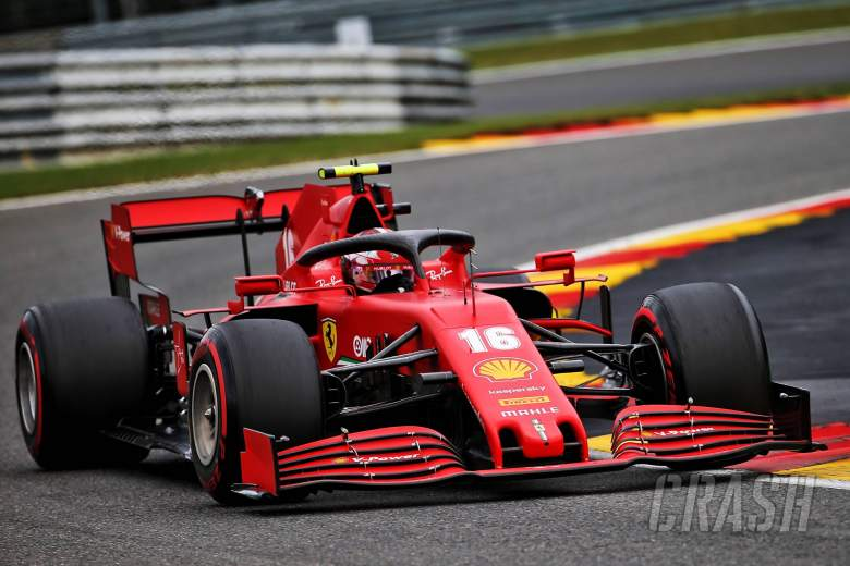 "Leclerc 'surprised' to be ""so far back"" in Belgian F1 GP"