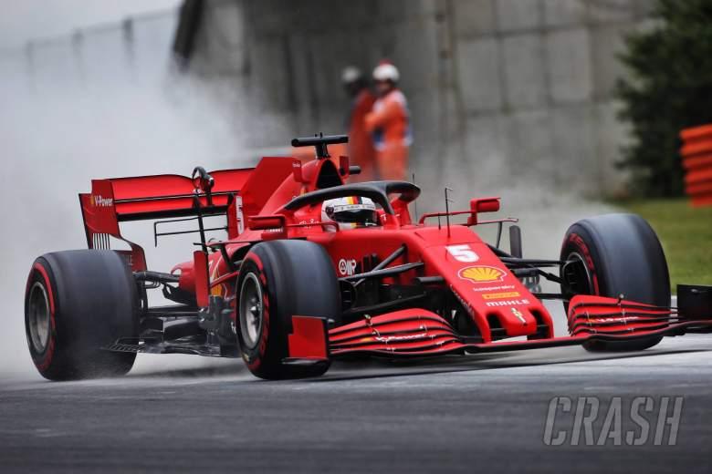 "Vettel: Ferrari performing ""much better'' in Hungarian GP"