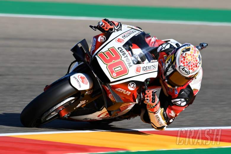 Takaaki Nakagami, Aragon MotoGP, 16 October 2020