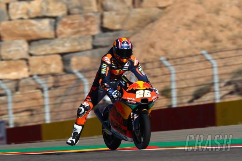 Raul Fernandez, Moto3, Aragon MotoGP, 16 October 2020