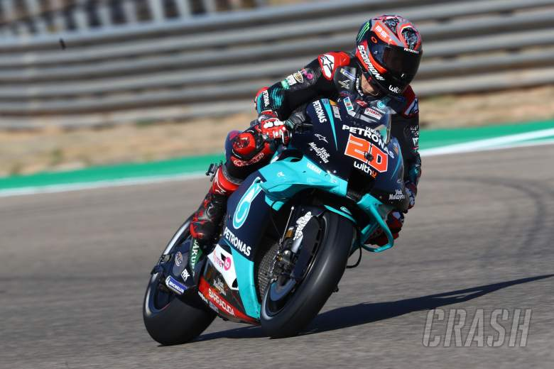 Fabio Quartararo , Aragon MotoGP. 17 October 2020