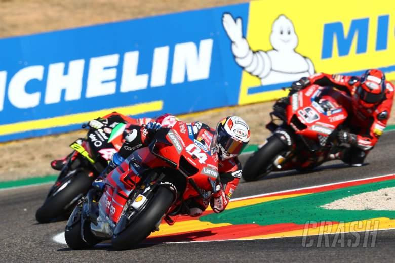 Andrea Dovizioso , Aragon MotoGP. 17 October 2020
