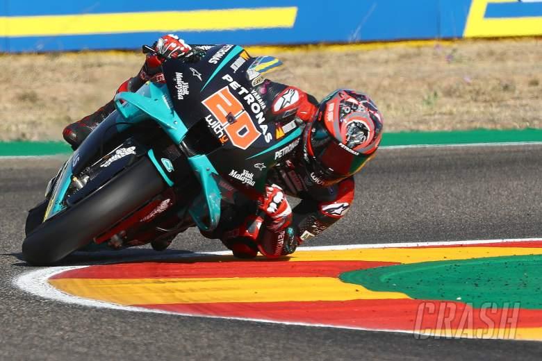 Fabio Quartararo , Aragon MotoGP. 17 October 2020