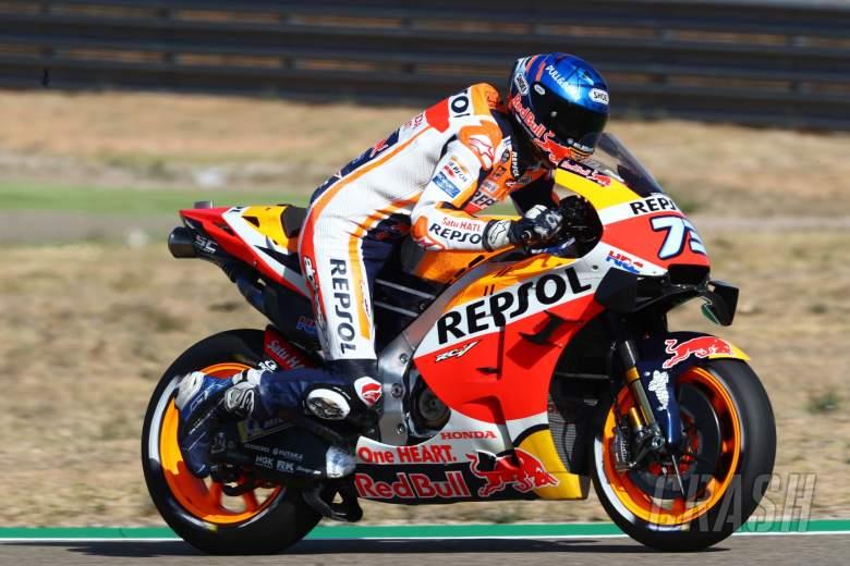 Alex Marquez , Aragon MotoGP. 17 October 2020