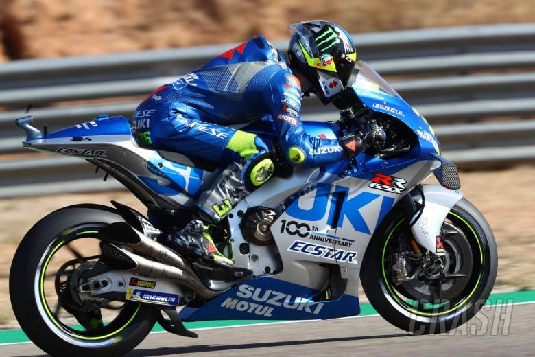 Joan Mir , Aragon MotoGP. 17 October 2020
