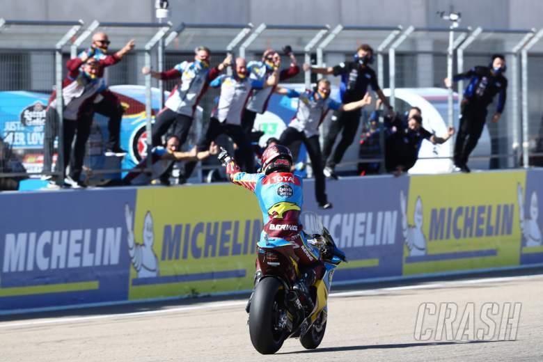 Sam Lowes, Moto2 race, Aragon MotoGP, 17 October 2020