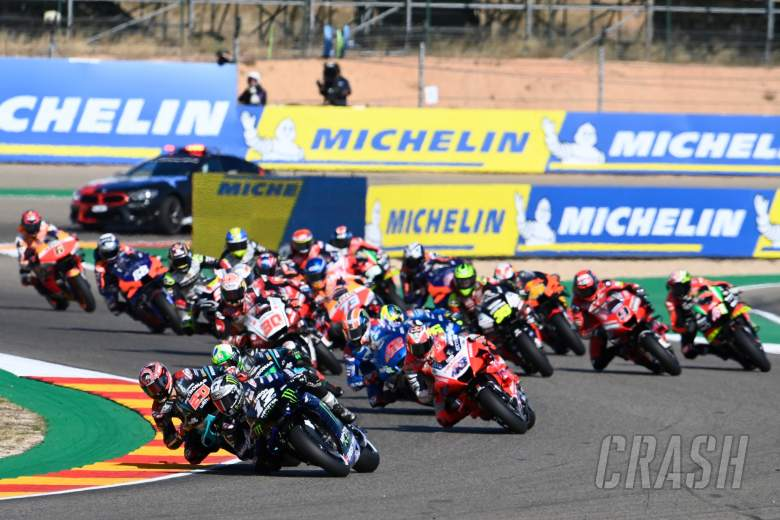 Maverick Vinales, Aragon MotoGP race, 17 October 2020