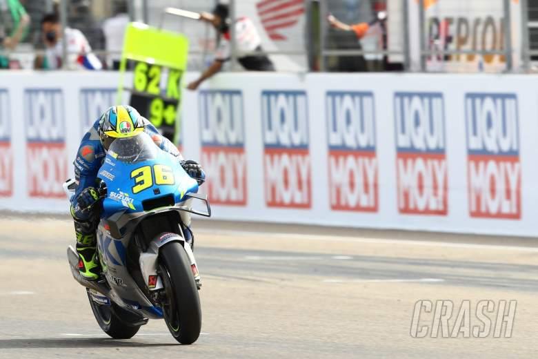 Joan Mir MotoGP race. Teruel MotoGP. 25 October 2020