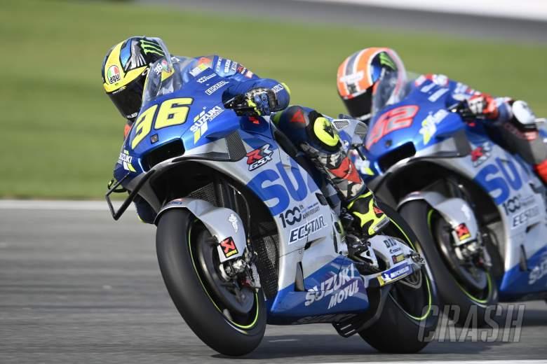 Joan Mir, European MotoGP race, 8 November 2020