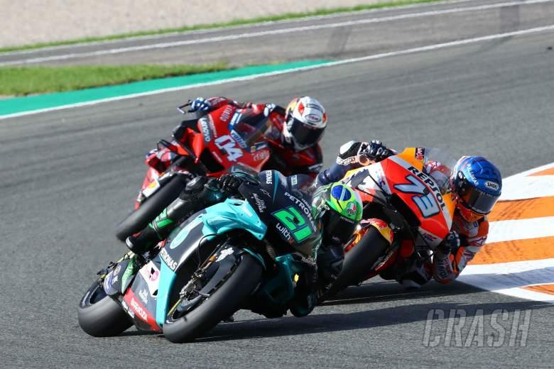 Franco Morbidelli MotoGP race, European MotoGP. 8 November 2020