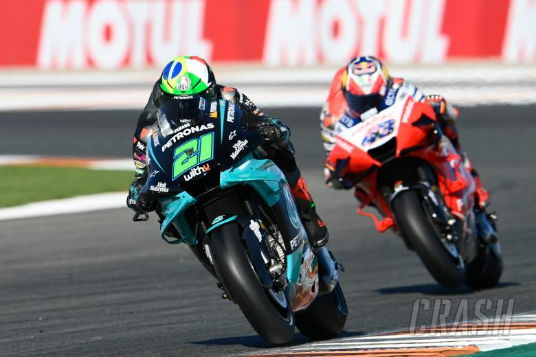 Franco Morbidelli, Valencia MotoGP race, 15 November 2020