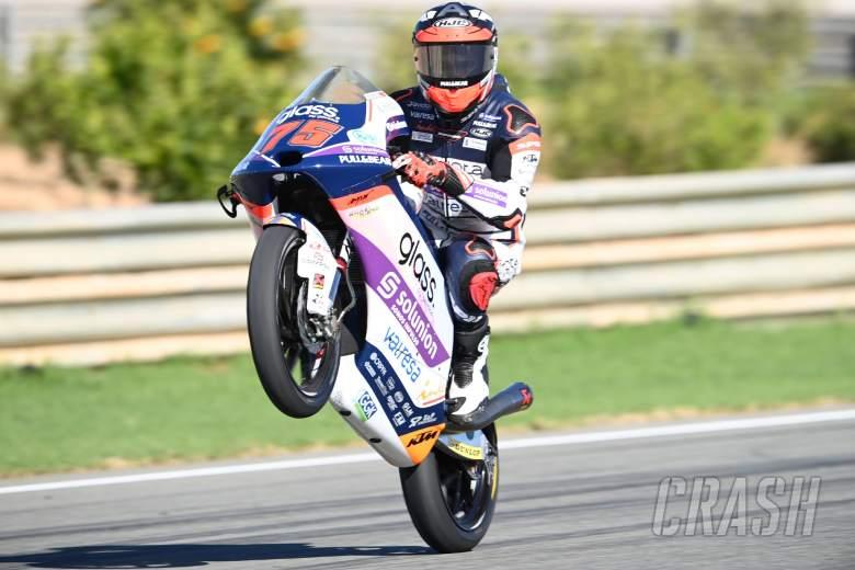 Albert Arenas, Moto3 race, Valencia MotoGP, 15 November 2020