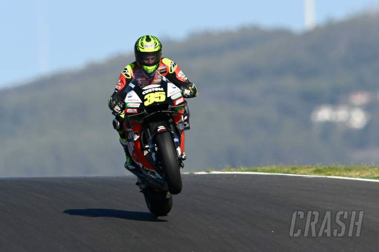 Cal Crutchlow, Portuguese MotoGP, 20th November 2020